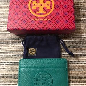 Tory Burch Credit Card Slot Holder/Small Wallet